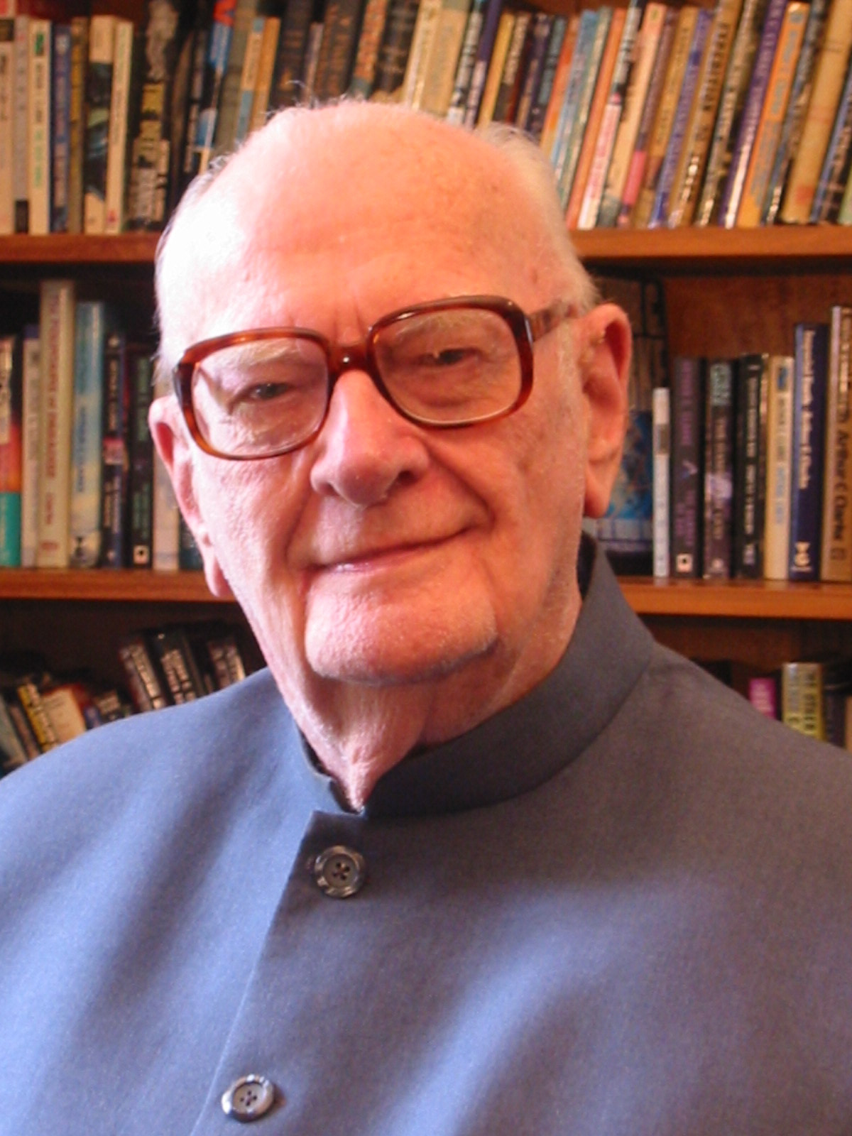 Sir Arthur C Clarke, photo credit Rohan de Silva